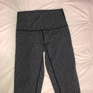 full length high wasted leggings